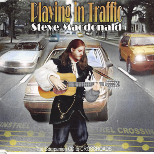 Album cover for Playing In Traffic